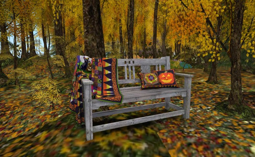 New Halloween Quilts In Second Life