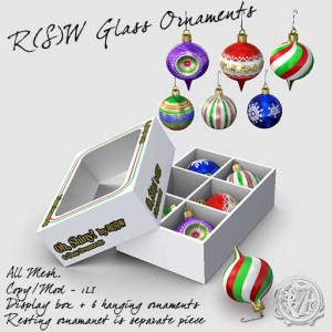 Holiday Ornament Box