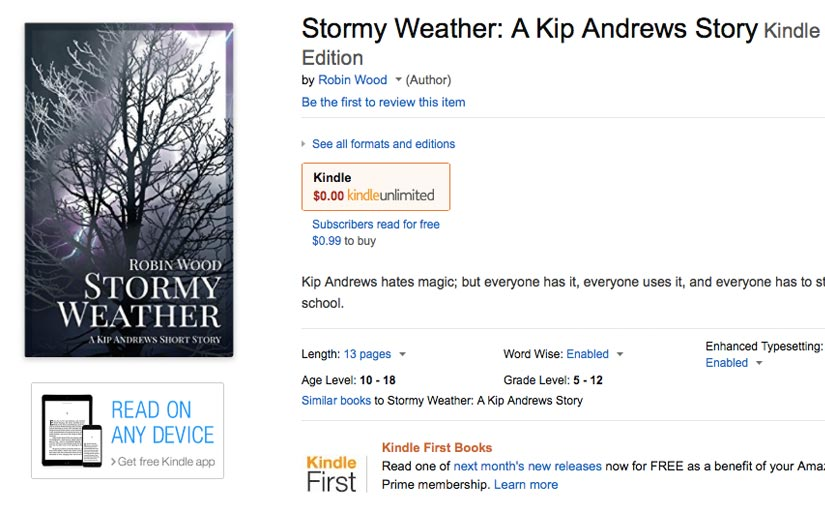 Stormy Weather on Amazon