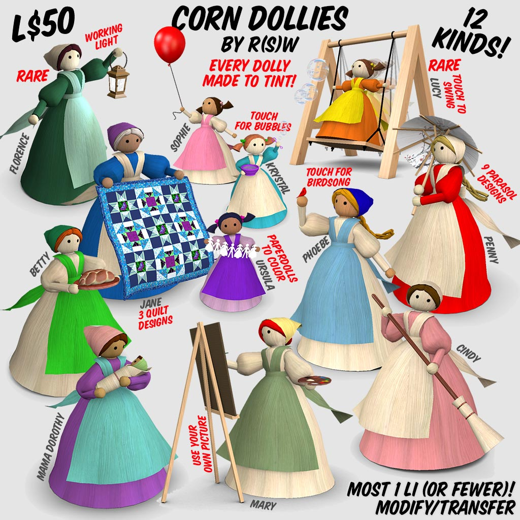 Corn Dollies Key image