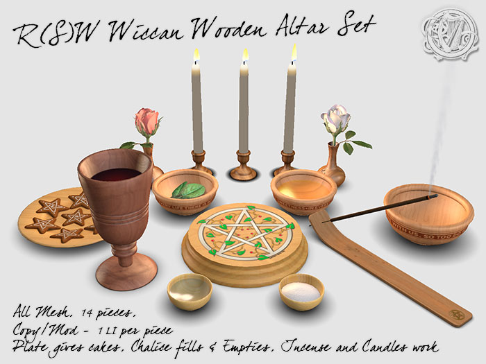 Altar Set in Second Life
