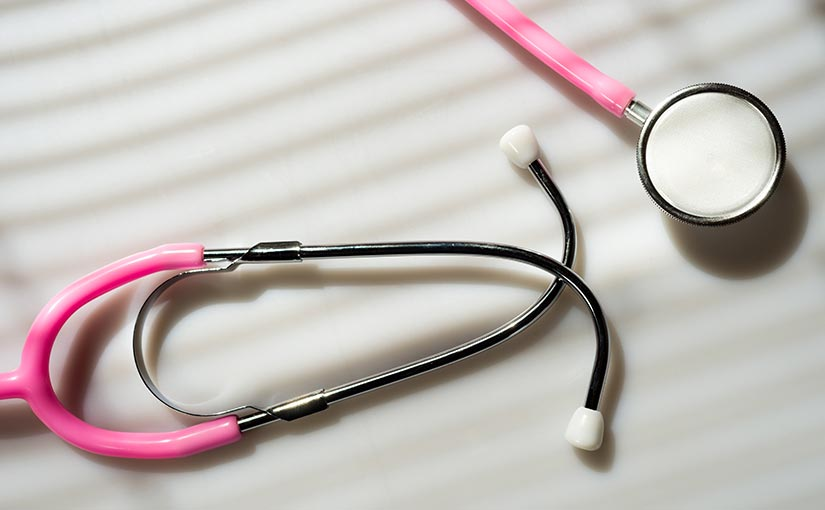 pink stethescope
