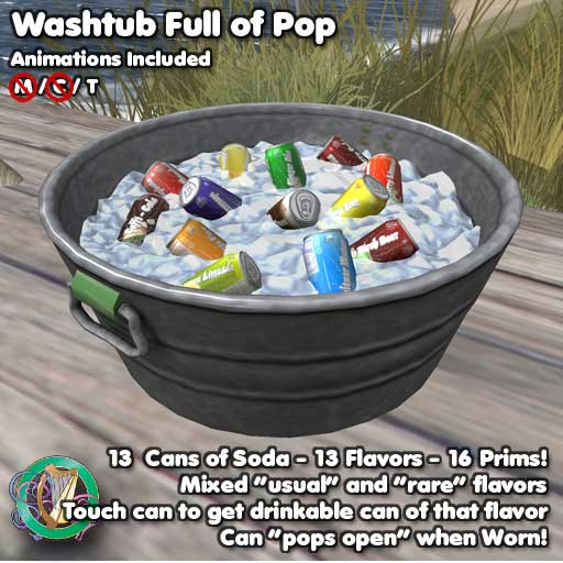 Washtub and Soda Vendor from SL