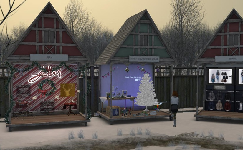 The Tannenbaum Market in Second Life